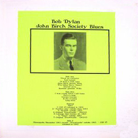 John Birch Society blues (1969)