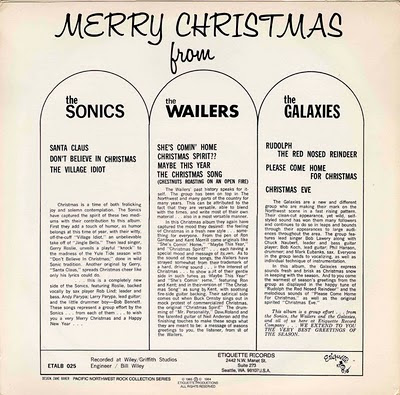 Merry Christmas from The Wailers, The Sonics, The Galaxies