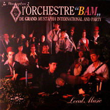 Orchestra BAM de grand Mustapha International and party (1985)